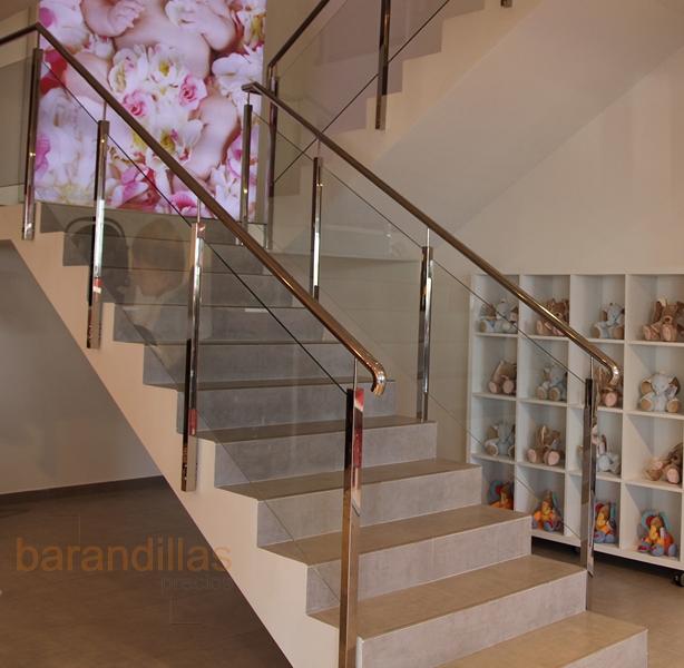 Barandillas precios interior cristal barandillas for Escalera exterior de acero galvanizado precio