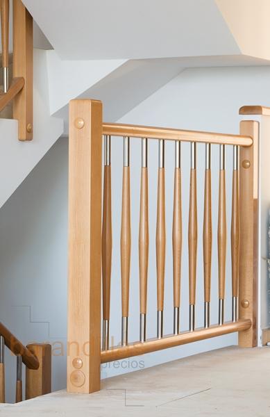 Madera f1 barandillas - Precio escaleras interiores ...